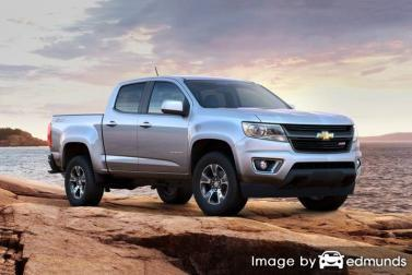 Insurance rates Chevy Colorado in Virginia Beach