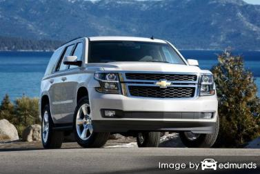 Insurance quote for Chevy Tahoe in Virginia Beach
