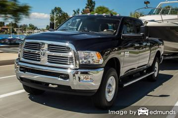 Insurance quote for Dodge Ram 3500 in Virginia Beach