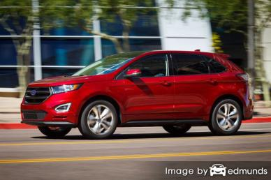 Insurance rates Ford Edge in Virginia Beach