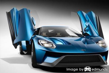 Insurance rates Ford GT in Virginia Beach