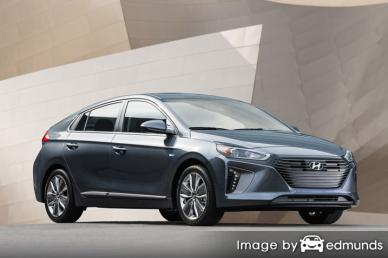 Insurance quote for Hyundai Ioniq in Virginia Beach