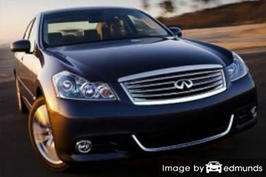 Insurance quote for Infiniti M35 in Virginia Beach