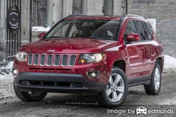 Insurance quote for Jeep Compass in Virginia Beach