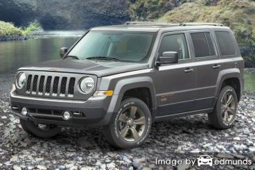 Insurance rates Jeep Patriot in Virginia Beach