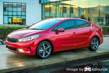 Insurance quote for Kia Forte in Virginia Beach