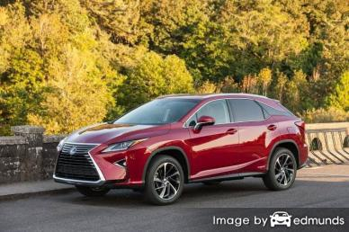 Insurance rates Lexus RX 450h in Virginia Beach