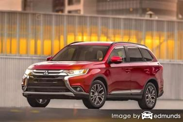 Insurance quote for Mitsubishi Outlander in Virginia Beach