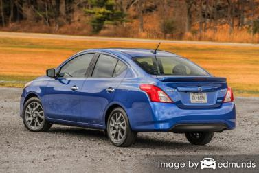 Insurance quote for Nissan Versa in Virginia Beach