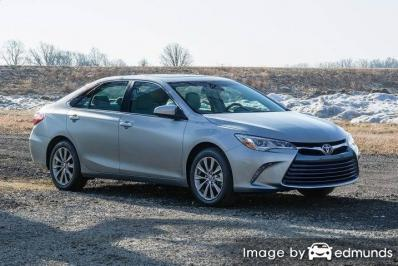 Insurance quote for Toyota Camry in Virginia Beach