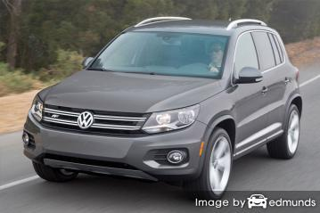 Insurance rates Volkswagen Tiguan in Virginia Beach